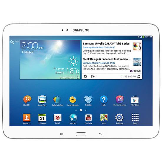 Samsung 10.1 inches  Galaxy Tab III 16GB Wi-Fi - Gold/Brown
