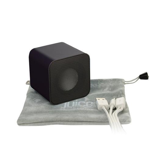 Sound Square Wireless Portable Speaker - Black