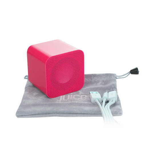 Sound Square Wireless Portable Speaker - Pink