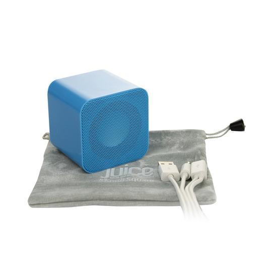 Sound Square Wireless Portable Speaker - Blue