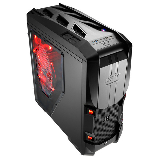 GT-S Black Full Tower Gaming Case
