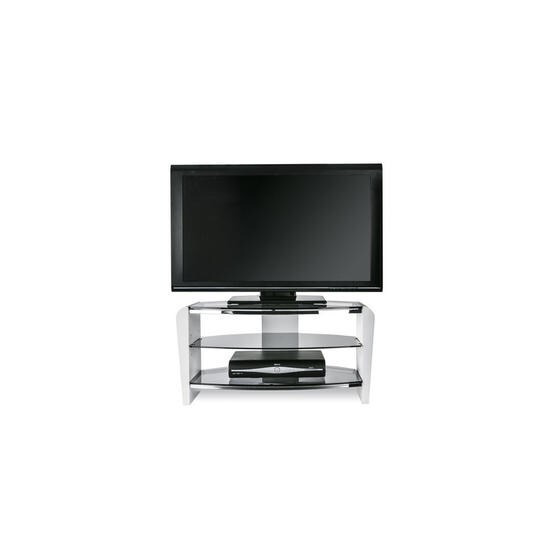 Alphason Francium White TV Stand