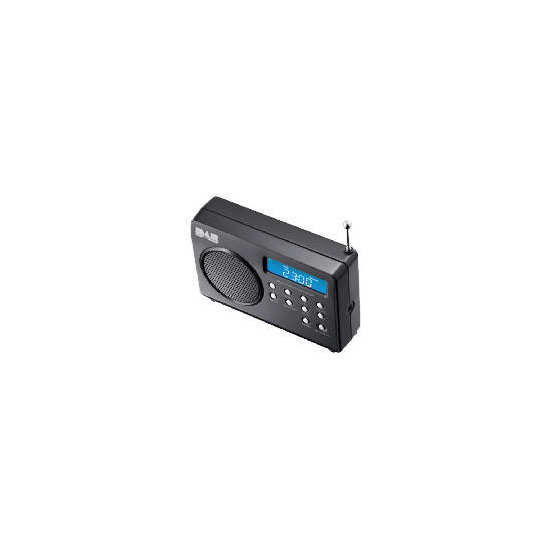 DAB113B Mini DAB Radio Black
