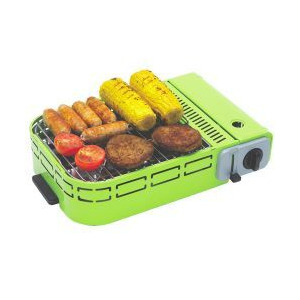 Photo of Outback U-Grill Compact BBQ - Green BBQ