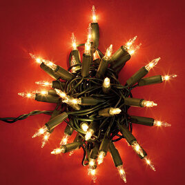 Noma 40 Classic Christmas Indoor Lights - clear Reviews