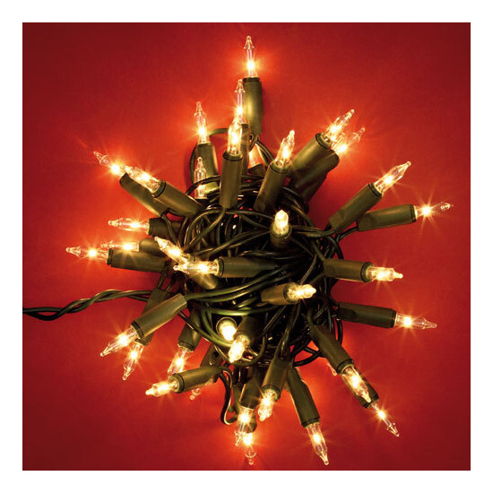 Noma 40 Classic Christmas Indoor Lights - clear