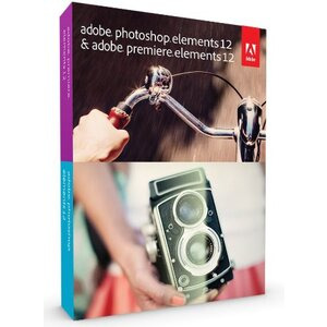 Photo of Adobe Photoshop Elements and Premiere Elements 12 Bundle Edition (PC/Mac) Software