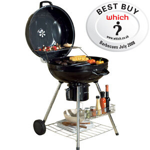Photo of AWT Living Charcoal Kettle Grill Barbecue BBQ