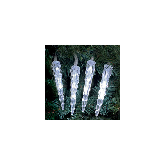 Noma 20 LED Icicle indoor Christmas lights