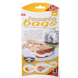 Photo of JML Toastabags 4 Pack Accessory