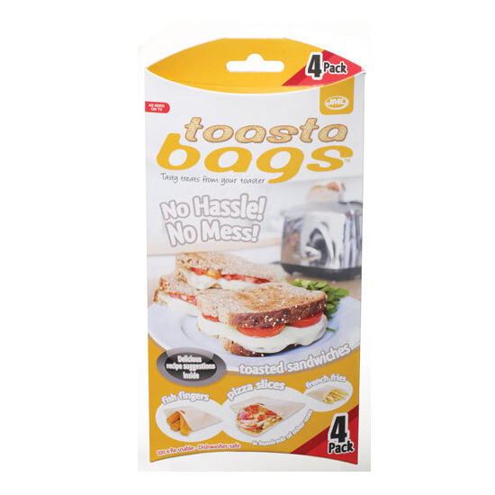 JML Toastabags 4 Pack