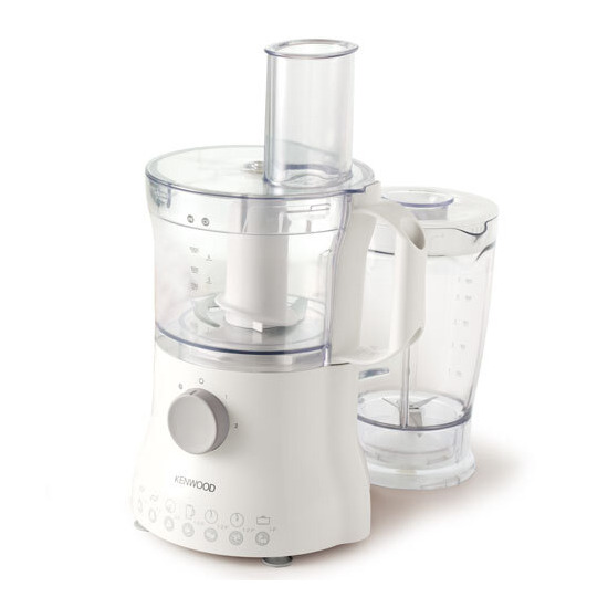 Kenwood White Compact Food Processor FP215