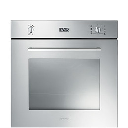Smeg Cucina SF485X Electric Single Oven - Stainless Steel Reviews