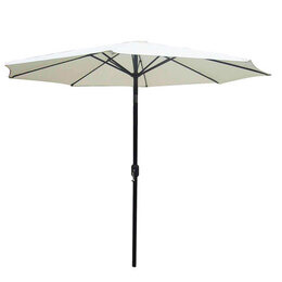 3m Cream Parasol with Crank and Tilt Reviews