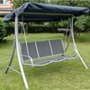 Photo of Deluxe 3 Seat Swing Hammock Garden Furniture