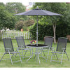 Photo of Seville 6 Piece Metal Garden Furniture Set Garden Furniture