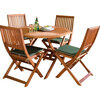 Photo of Country FSC 110CM Hardwood Garden Furniture Set Garden Furniture