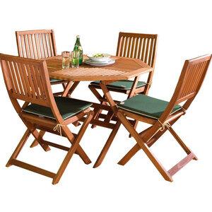Photo of Country FSC 110CM Hardwood Garden Furniture Set Garden Furniture