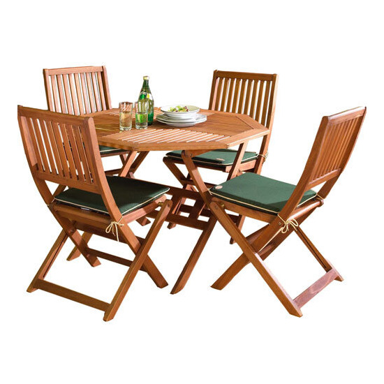 Country FSC 110cm Hardwood Garden Furniture Set
