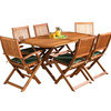 Photo of Country 150CM Hardwood Garden Furniture Set Garden Furniture