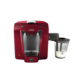 AEG LM5400MR-U A Modo Mio Favola Espresso Machine - Metallic Watermelon Red