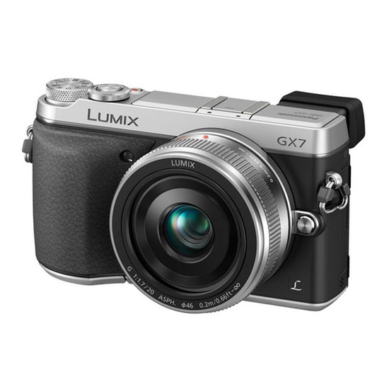 PANASONIC DMC-GX7CEB Compact System Camera with 20 mm Standard Lens