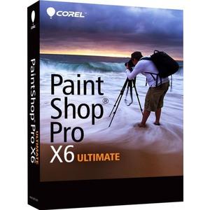 Photo of Corel PaintShop Pro X6 Ultimate (PC) Software