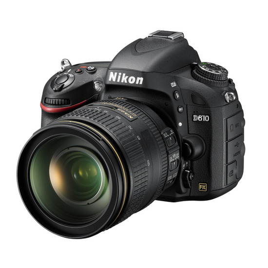 Nikon D610 with 24-85mm Lens
