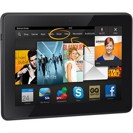 Amazon Kindle Fire HDX 7 64GB WiFi