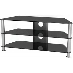 Photo of Value UM2 Universal Black Glass TV Stand For TVs Up To 50 TV Stands and Mount