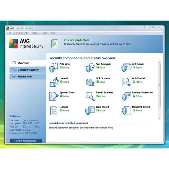 AVG Internet Security 9
