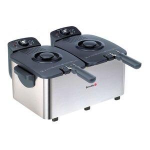 Photo of Breville VDF020 Twin Fryer Deep Fat Fryer