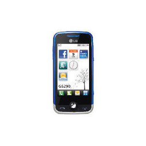 Photo of Virgin Cookie Fresh Blue Mobile Phone