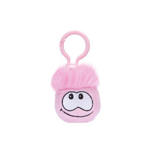Photo of Disney Club Penguin - Pink Puffle Keychain Toy