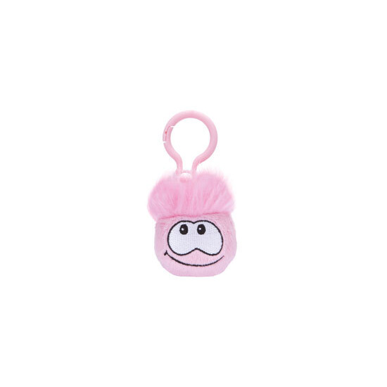 Disney Club Penguin - Pink Puffle Keychain