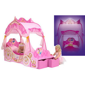 Photo of Disney Princess Carriage Bed Toy