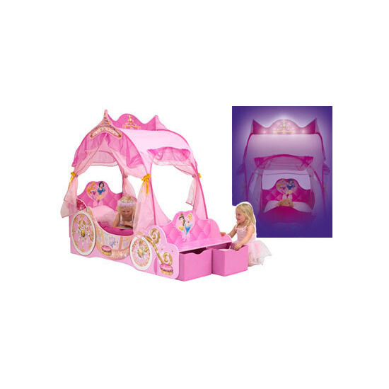 Disney Princess Carriage Bed