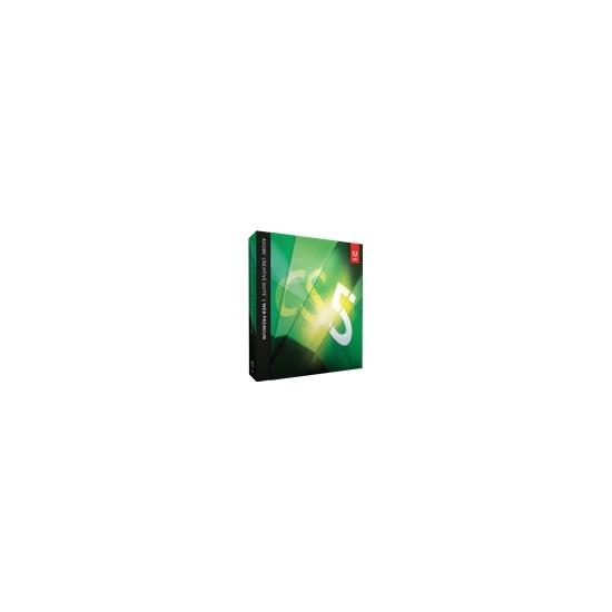 Adobe Creative Suite 5 Web Premium(upgrade ver. English,Dvd) for PC