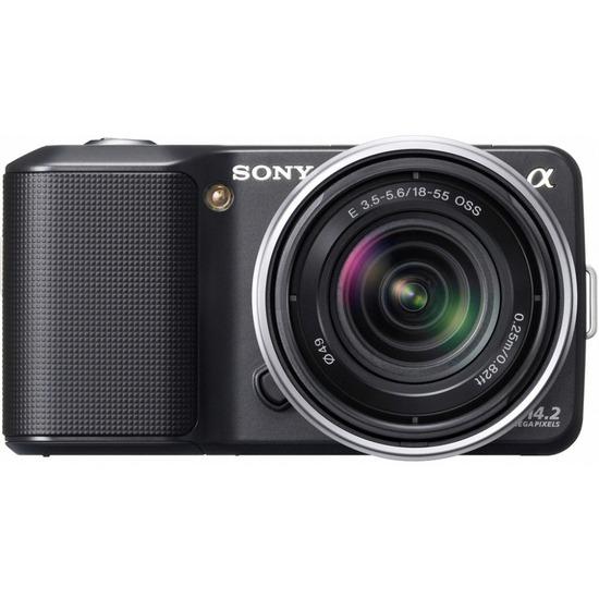 Sony Alpha NEX-3K with 18-55mm lens