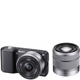 Sony Alpha NEX-3D with with 16mm and 18-55mm lenses Reviews