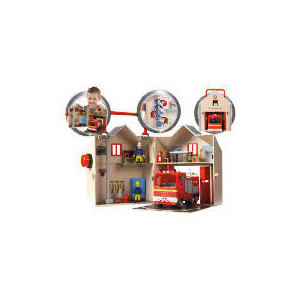 Photo of Fireman Sam Deluxe Fire Station Playset Toy