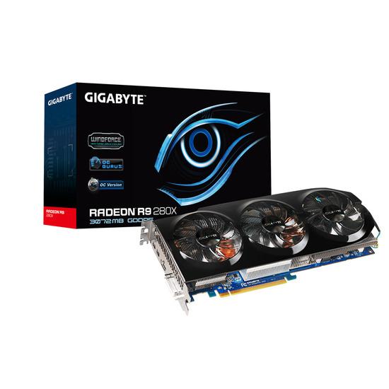 Gigabyte Radeon R9-280X 3GB