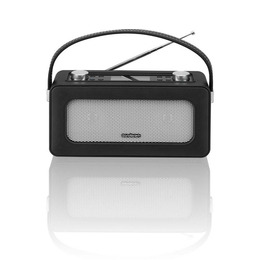 SANDSTROM SDABXBL13 Portable DAB Bluetooth Radio - Black Leather