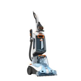 Vax W87-DV-B Dual V Advance Upright Carpet Cleaner - White & Orange Reviews