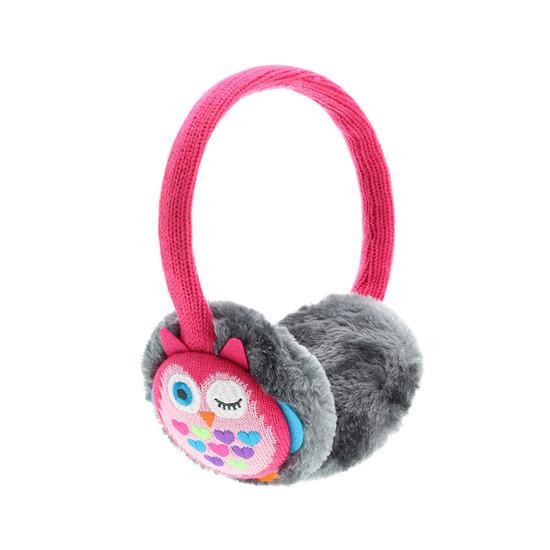 KITSOUND Hearmuff Headphones - Pink Owl