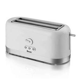 Swan ST10090N 4 Slice LongSlot White Toaster Reviews