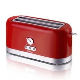 Swan ST10090REDN 4 Slice LongSlot Red Toaster Reviews