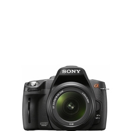 Sony Alpha DSLR-A390L with 18-55mm lens Reviews