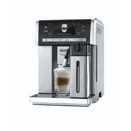 DELONGHI Prima Donna Exclusive ESAM6900.M Bean to Cup Coffee Machine - Black & Stainless Steel Reviews