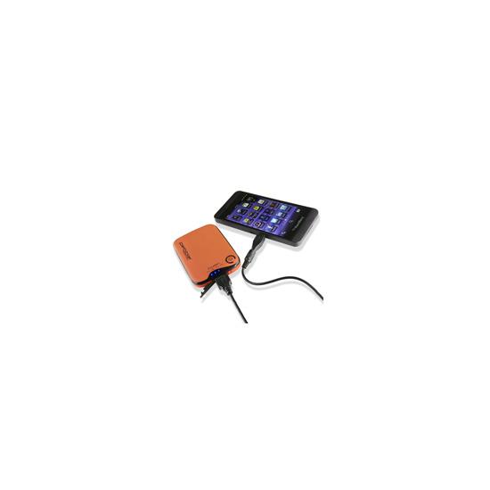 Veho Pebble Verto portable battery back up power 3700mah - Orange
